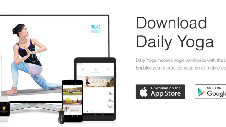 Daily Yoga, une application pour faire du yoga… au quotidien
