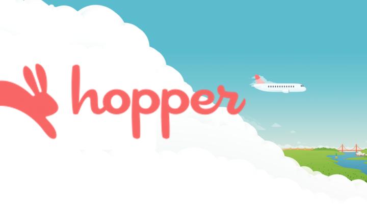 Hopper, pour trouver le jour où les billets d'avion sont le moins cher