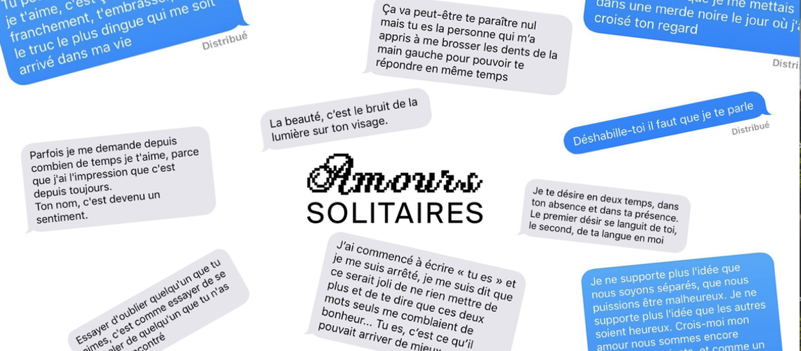 Amours Solitaires, pas si solitaires…