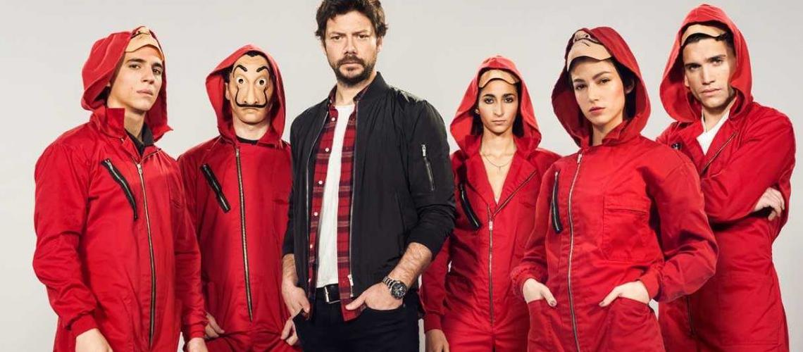 La Casa de Papel partie 4 arrive demain sur Netflix !