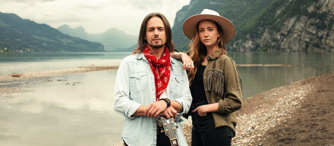 Two of a kind, Anna Känzig et Tobey Lucas sortent leur premier album commun
