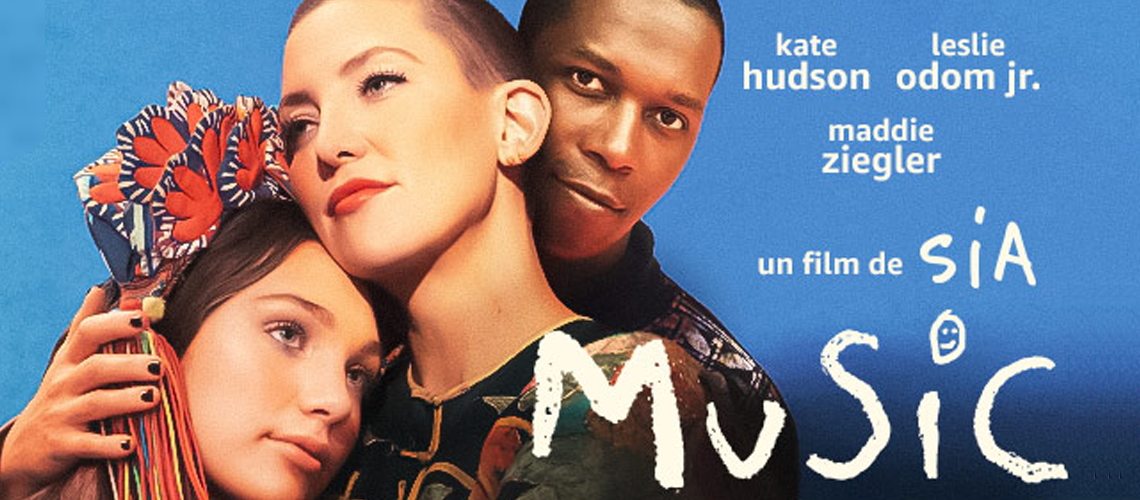 MUSIC, le premier film de SIA, disponible le 24 février en VOD