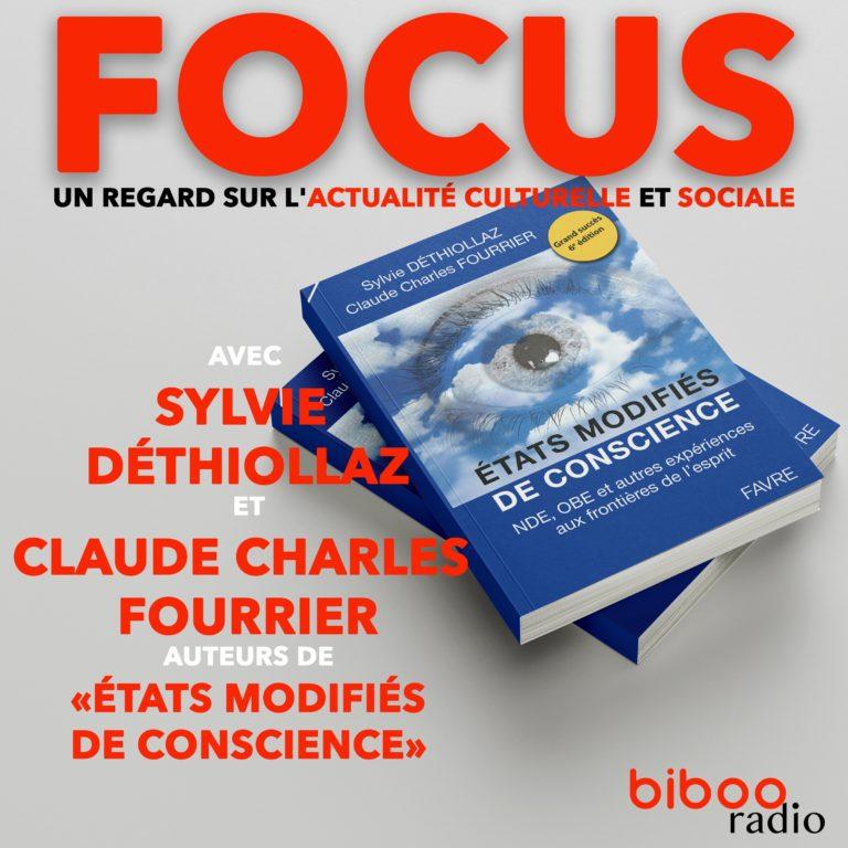 """Sylvie Déthiollaz et Claude Charles Fourrier ont écrit """"Etats modifiés de conscience"""""""